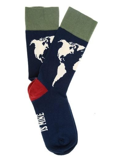 Pixter&Bro Soket Çorap Lacivert